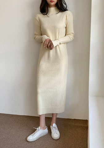 Still Believe In Winter Knit Dress