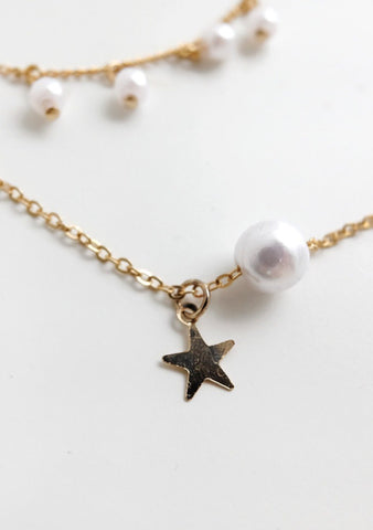 Piece By Piece Pearl Necklace