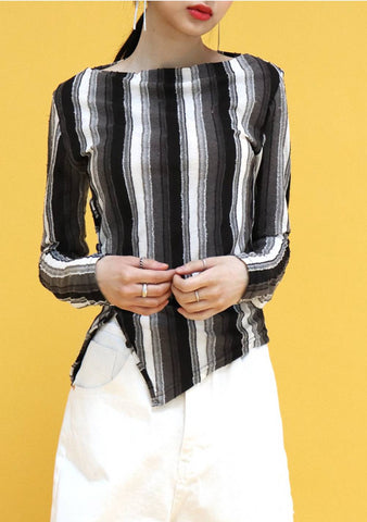 And Stripe T-Shirt [Black]