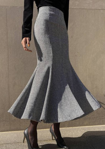 Butterfly Effect Mermaid Wool Skirt