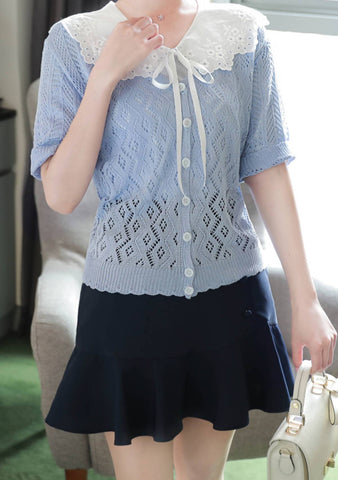 A Better Hello Short Sleeves Cardigan