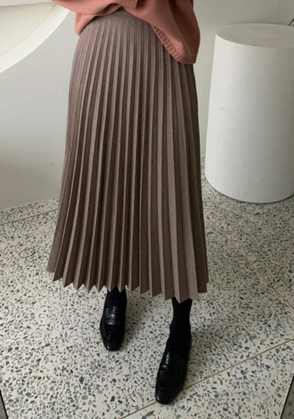 True Personality Pleated Skirt