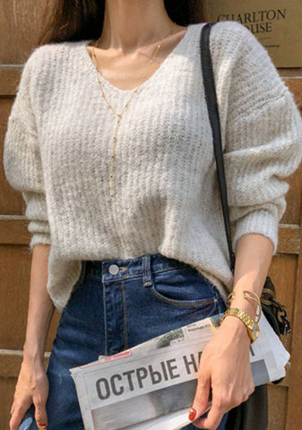 Simple Ways Knit Sweater