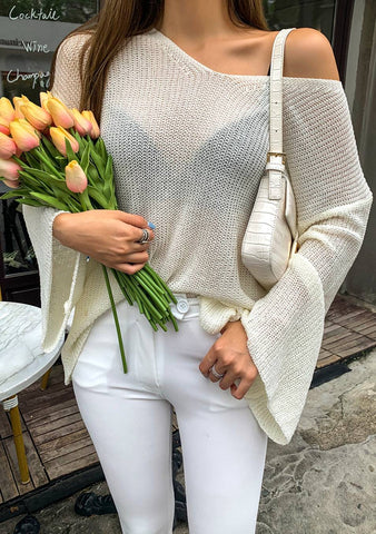 Focus On The Good Knit Top