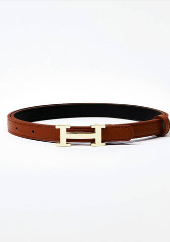 Golden H Point Belt