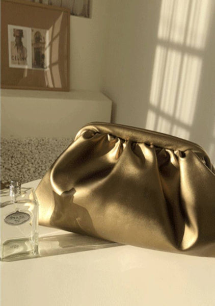 Piece Of Gold Clutch Bag