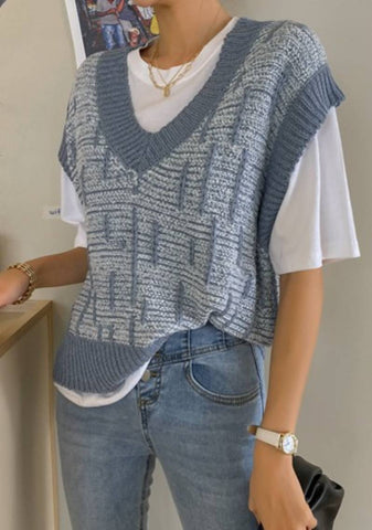 A Question To Ask Knit Vest