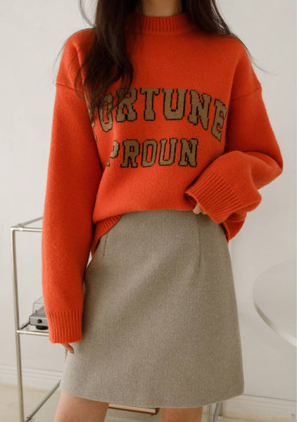 Fortune Wool Knit Sweater