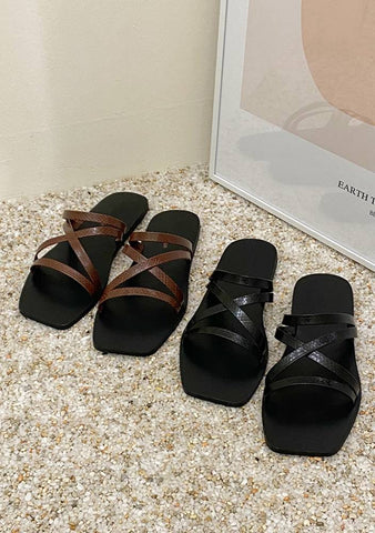 It Is All Confusion Sandals