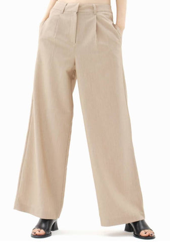 Reine Wide Pants [Beige]
