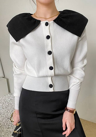 Rest Of The Best Collar Cardigan