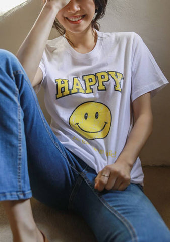 The Beginning Of Being Happy T-Shirt