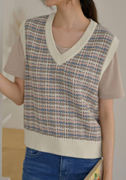 The Smiles Of Nature Tweed Knit Vest