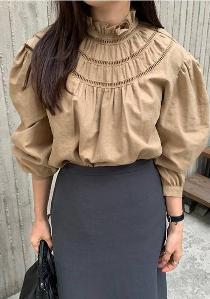 What You See Puff Blouse