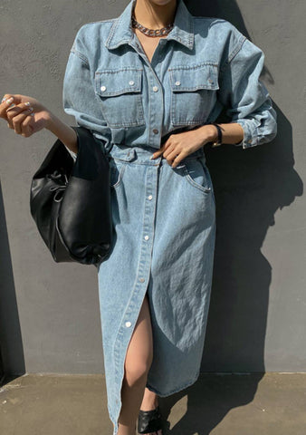 Surprise Denim Dress