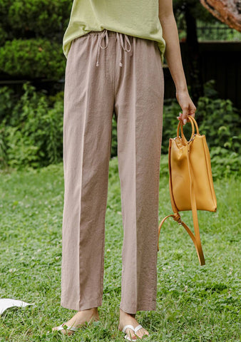 Who I Want To Be In Summer Linen Pants