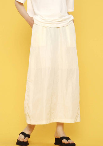 Ripple Skirt [Cream]