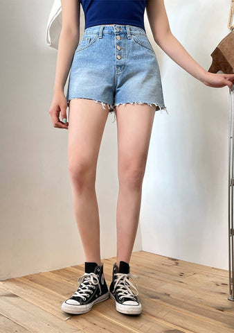 Springs Happiness Denim Shorts