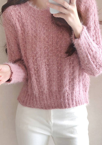Havent Met You Yet Knit Sweater