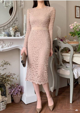 Classic Song Lace Dress