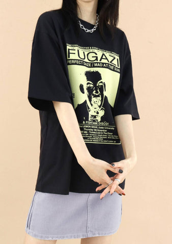Pu T-Shirt [Black]