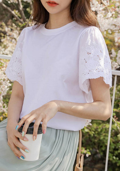 Lovers Under The Sakura Lace T-Shirt