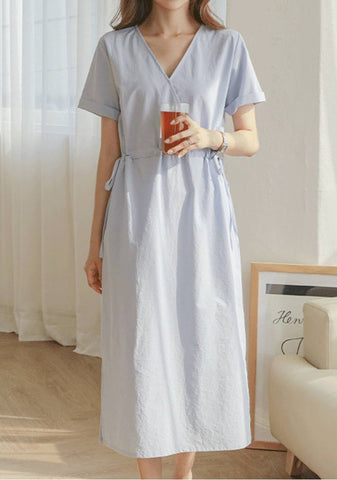 What It Is To Be In Love Linen Dress