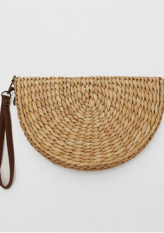 Every Heart Has A Story Straw Clutch