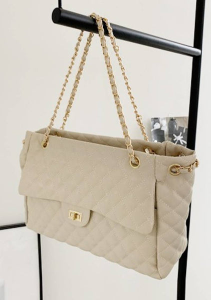 Dont Compare Quilted Shoulder Bag