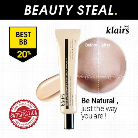 明亮柔膚遮瑕BB霜<br> KLAIRS Illuminating Supple Blemish Cream