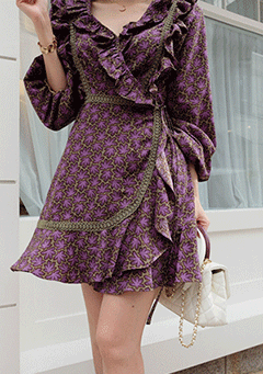 Mimi Wrap Dress