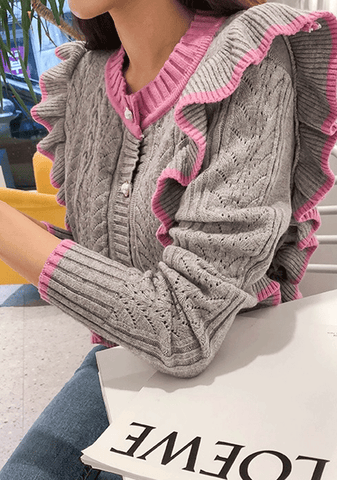 A Little Bit Of Your Heart Knit Cardigan