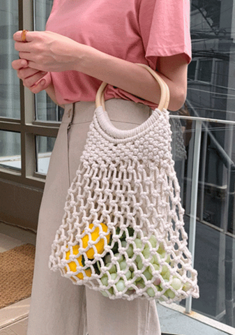 Crochet With Rings Bag
