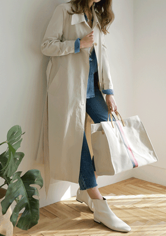 A Morning Person Trench Coat
