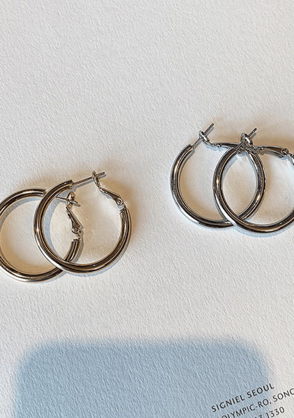 When The Days Are Warm Hoops Earrings