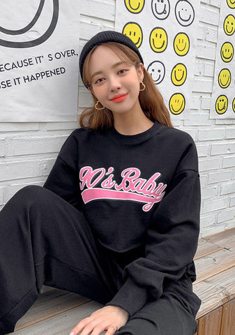 Nineties Baby Crop Sweatshirt