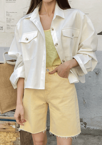 Loose Fit Boxy Jacket