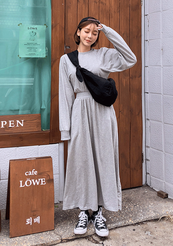 So Cosy Casual Sweatshirt Dress