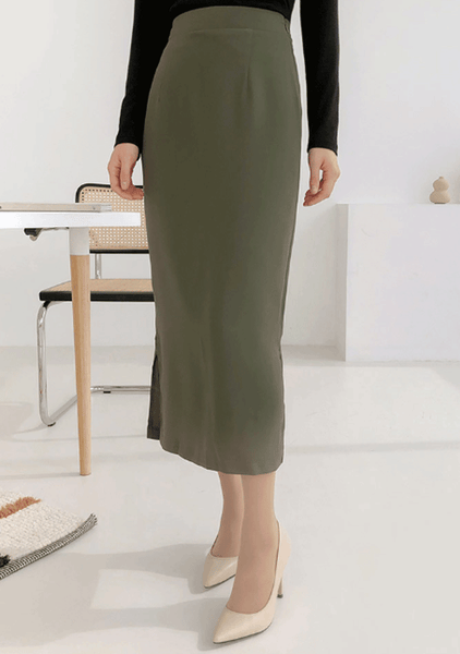 Tranquility Lamb Straight Skirt