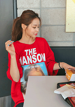 The Manson Print Sweatshirt