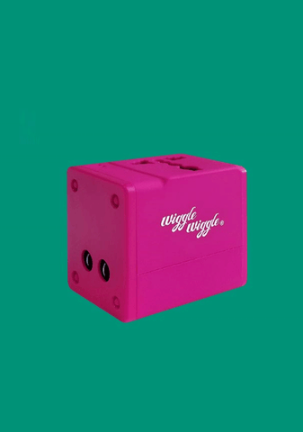 Travel Multi Adapter - Pink