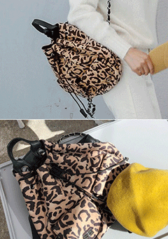 Can Not Get Over You Leo Print Bag