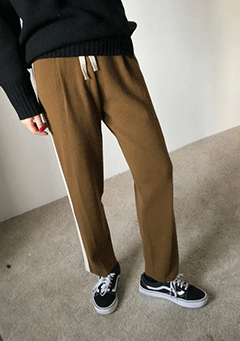 Broke Tradition Side Stripes Pants