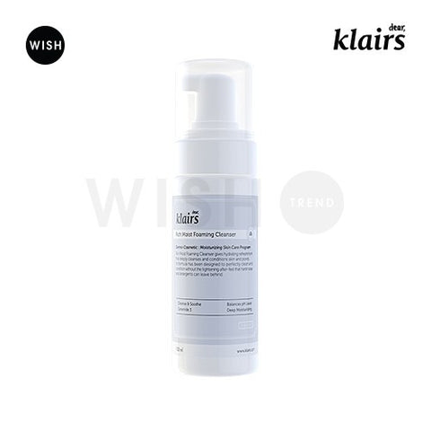潤澤保溼泡沫洗面乳<br>KLAIRS Rich Moist Foaming Cleanser