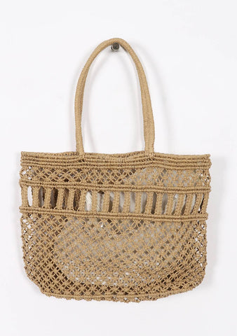Summer Lifetime Straw Bag