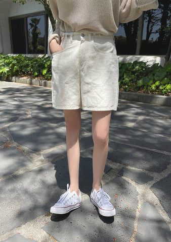 From Now On Linen Shorts