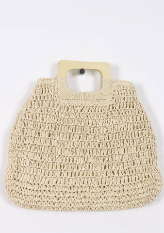 The Tip Of The Iceberg Straw Bag