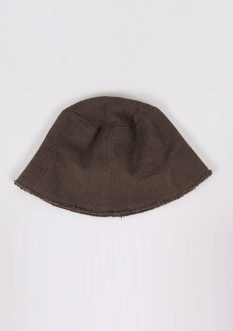The Smallest Step Linen Bucket Hat