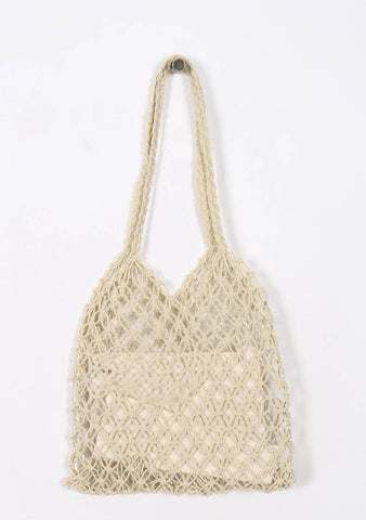 Do All Things With Love Straw Bag