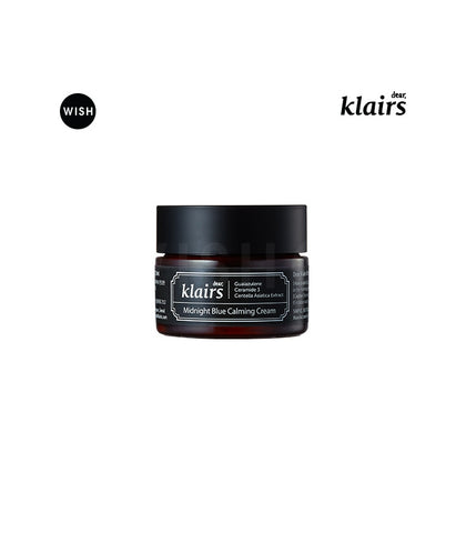午夜美肌粉藍修護乳<br>KLAIRS Midnight Blue Calming Cream